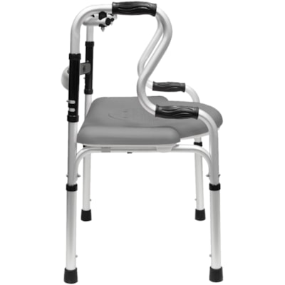 BIOS Living 5-in-1 Mobility and Bathroom Aid LIGHT WEIGHT ALUMINUM FRAME WEIGHT CAPACITY 300LBS