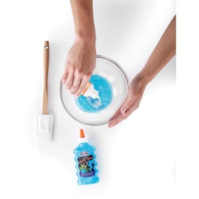 Elmer's Icy Blue Glitter Slime Kit, Blue/Silver