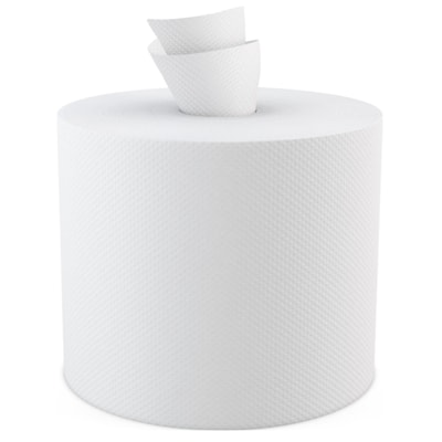 "Cascades PRO Select 2-Ply Centrepull Hand Paper Towels, White, 500 Sheets/RL, 6/CS 500/SHEET  6 ROLLS/CS  10X7.8"""