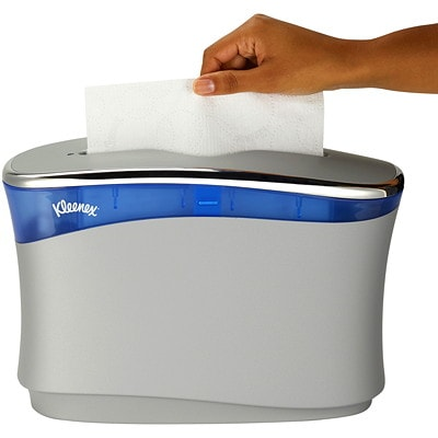 Kleenex Scottfold 1-Ply Paper Towels, White, 120 Sheets/PK, 25 Packages/CT 1-PLY TOWEL