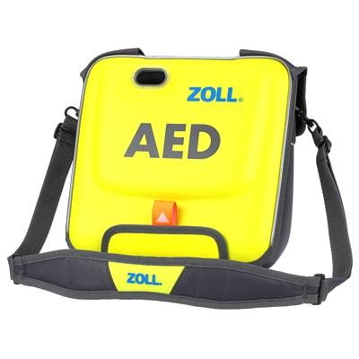 Mallette de transport pour défibrillateurs AED 3 ZOLL, jaune