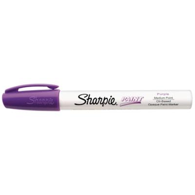 Sharpie Oil-Based Opaque Paint Marker, Purple, Medium Tip MEDIUM POINT
