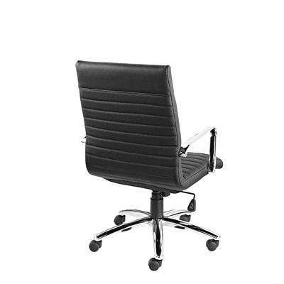 Fauteuil inclinable à dossier haut Ultra Offices to Go, noir, cuir lié Luxhide DOSSIER HAUT ULTRA OTG CUIR/SIMILICUIR NOIR
