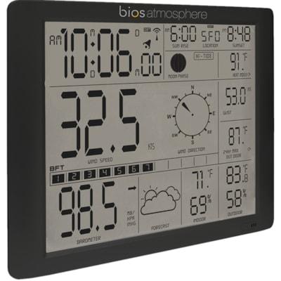 BIOS Living Weather Station with Jumbo Screen JUMBO SCREEN