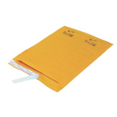 """PolyAir Ecolite Self-Adhesive Bubble Mailers, Kraft, #6, 12 1/2"""" x 18 1/8"""", 25/CT INTERNAL DIM: 12 1/2''X18 1/8"""" EXTERNAL DIM: 13 1/2""""X18 5/8"""""""