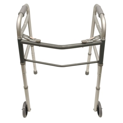 """BIOS Living Reciprocating Walker with Wheels 5"""" WHEELS AND RUBBER FEET"""