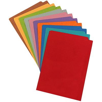 "Pendaflex Orange Coloured Straight Tab Legal-size (8 1/2"" x 14"") Shelf File Folders PENDAFLEX 10%PCW STRAIGHT TAB"