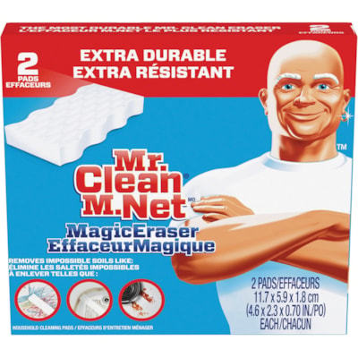 Mr. Clean Extra Power Magic Eraser Cleaning Pads, 2/PK EXTRA POWER