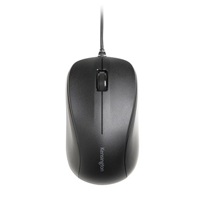 Kensington Wired Mouse for Life, Black