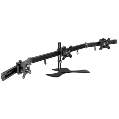 DAC Flex Triple-Monitor Arm MNTR TO 24  WG SENSOR ROTATE 3 POST HEIGHT OF 15.5  (40CM)