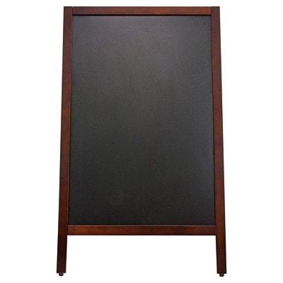"Quartet Double-Sided Sidewalk Chalkboard Sign 20""X40"" DOUBLE SIDED SIGNAGE 17"" X 29"" CHALKBOARD SURFACE"