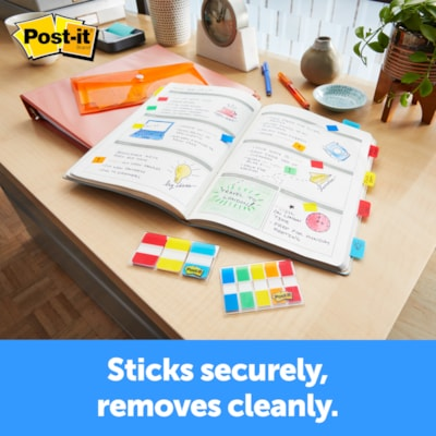 """Post-it 5/8"""" Durable Filing Tabs, Assorted Primary Colours, 40/PK 5/8"""" POST-IT TABS"""