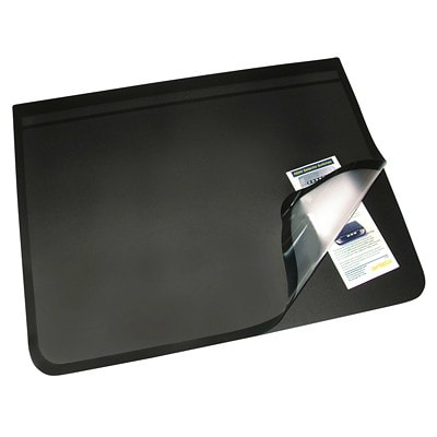 Artistic Logo Pad Lift-Top Desk Organizer 80% RECYCLED CONTENT BLACK