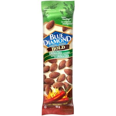 Blue Diamond Almonds, Bold Sriracha, 43 g, 12/BX BLUE DIAMOND ALMONDS