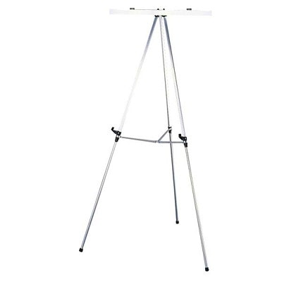 Quartet Telescoping Aluminum Easel ADJ.HEIGHT (38-66 IN) USES 50T PAD HOLDER QUARTET
