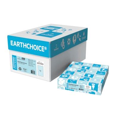Papier couleur à usages multiples EarthChoice 20LB LETTRE SANS ACIDE LASER 30% PCF CERTIFICATION SFI