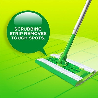 Swiffer Sweeper Wet Mopping Cloth Refills, Gain Original Scented, 24/PK