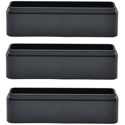 DAC Stax MP-216 Ergonomic Height-Adjustable Monitor or Laptop Riser Blocks Kit, Black, 3/PK BLACK  PACK OF 3 COMPTBL W/MP107  2240  02159