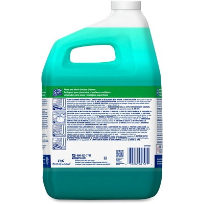 Spic and Span Floor and Multi-Surface Cleaner, Concentrate Closed Loop, 3.78 L, Case of 3 3.78L  4-40  CLOSED LOOP