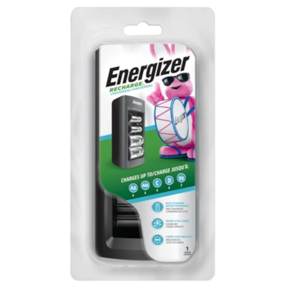 Energizer Universal Battery Charger CHARGES AA/AAA/C/D/9V 3 HR CHARGING CHARGE INDICATOR