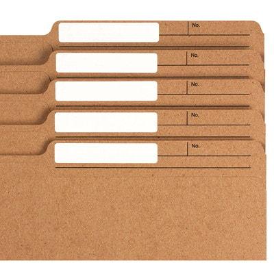 "Grand & Toy Laser/Inkjet Filing Labels, White, 3 7/16"" x 2/3"", 30 Labels/Sheet, 20 Sheets/PK JET  WHITE 3 7/16 X 2/3 "" 30/SHEET  600/PKG PERMANENT"