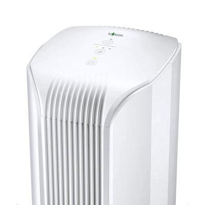 Ecohouzng UVC Light and Photo-Catalyst Air Purifier, White UVC LIGHT & PHOTO CATALYST