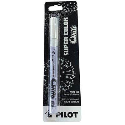 Pilot Super Colour White Paint Marker PERMANENT INK