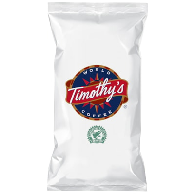 Timothy's Whole Bean Coffee, Espresso, 2.5 lb RAINFOREST ALLIANCE