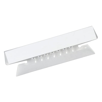 """Pendaflex Flexible 3 1/2"""" Hanging File Insertable Tabs, Clear, 25/PK 3.5"""""""