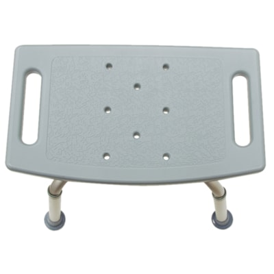 BIOS Living Adjustable Bathroom Bench ALUMINUM FRAME