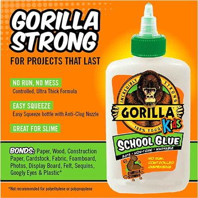 Gorilla Kids School Glue, 4 oz.