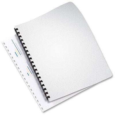 "Swingline GBC Linen Weave Presentation Covers, Navy, 50/PK SIZE 8 3/4"" X 11 1/4"" 30% PCW LINEN WEAVE BINDING COVER"