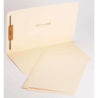 "Pendaflex Laminated Manila Shelf Folders With 1 Fastener, Legal 2"" FASTENER POSITION 1 FULLCUT TAB"