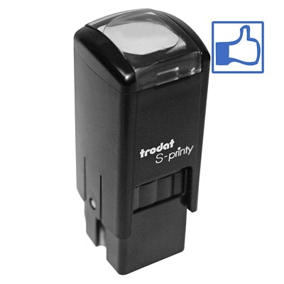 Trodat S-Printy 4921 Self-Inking Small-Size Thumbs up Stamp S-PRINTY 4921 MINI  STAMP MINI SELF-INKING STAMP