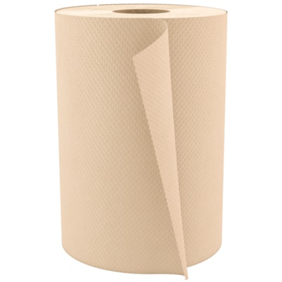 Cascades PRO Select 1-Ply Universal Hand Paper Towel, Natural, 600', 12/CT NATURAL HAND PAPER TOWEL 12/CT