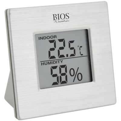 Bios Living Digital Indoor Hygrometer with Temperature -50C TO 70C / -58F TO 158F MIN / MAX TEMP & HUMID