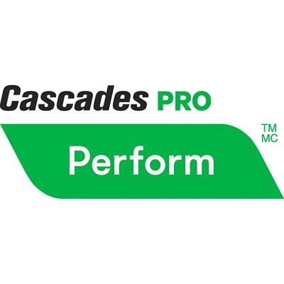 Cascades PRO Perform 1-Ply Hand Paper Towels for Tandem Dispenser, White, 1,050', 6/CS 1050 FEET  WHITE CASCADES PRO PERFORM