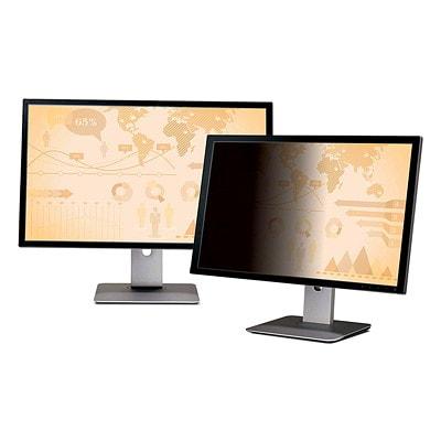 """3M Black Frameless Privacy Screen Filter For 24"""" Widescreen LCD Monitor FOR WIDE-SCREEN MONITORS"""