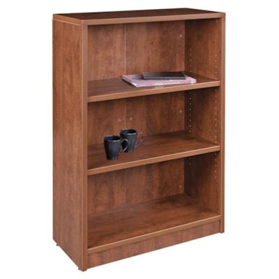 "HDL 3-Shelf Autumn Maple Bookcase AUTUMN MAPLE FINISH 32""W X 14""D X 48""H"