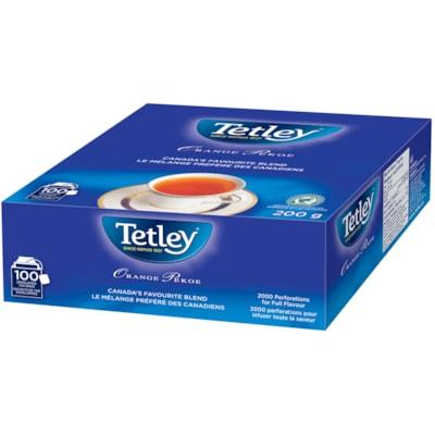 Tetley Tea Orange Pekoe Tea, 100/BX