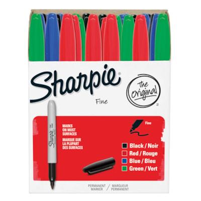 Sharpie Permanent Markers, Assorted Colours, Fine Tip, 36/PK FINE TIP