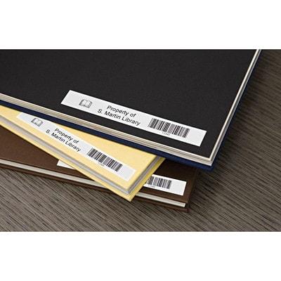 DYMO D1 Label Cassette, Black Type/White Tape, 9 mm x 7 m FOR ELECTR.LABELMAKR 9MM 23 FT FOR DYMO 1000 4000 5000 SERIES