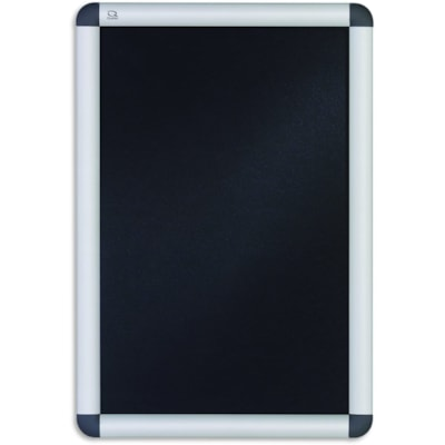 "Quartet Improv Clip Aluminum Frame Sign, Table-Top or Wall Mount, 11"" x 17"""