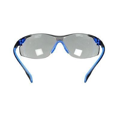 3M Solus 1000 Series Protective Safety Eyewear, Grey Lens with Scotchgard Anti-Fog Coating, Blue Frame BLACK/BLUE  GREY ANTI-FOG LENS