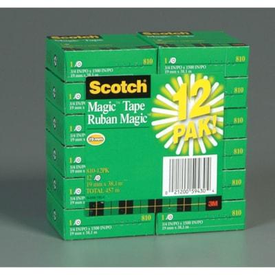 Scotch Magic Tape Refill Bulk Pack 12pk