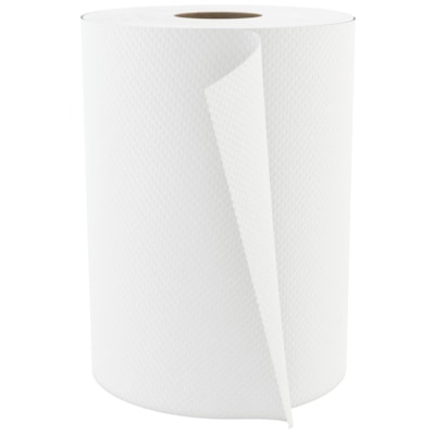 Cascades PRO Select 1-Ply Universal Hand Paper Towel, White, 600', 12/CT WHITE HAND PAPER TOWEL 12/CT