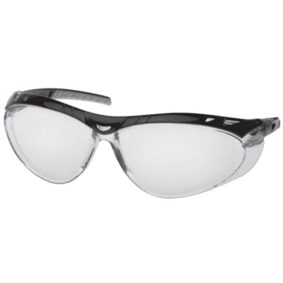 Vortex Clear Lens Safety Glasses CLEAR LENS  BLK/SILV FRAME