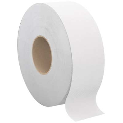 Cascades PRO Select 1-Ply Universal Jumbo Bathroom Tissue, White, 2,000', Case of 12 12/CS  1 PLY WHITE CASCADES PRO SELECT