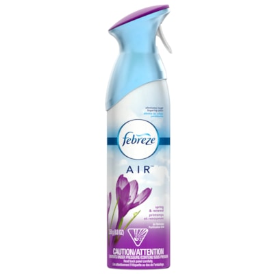 Désodorisant en aérosol AIR Febreze, parfum printemps et renouveau, 250 g PRINTENPS ET RENOUVEAU 250 G