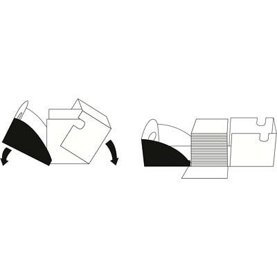 Papier à usages multiples dans une boîte à distribution rapide SPLOX X-9 Boise, certifié FSC, 20 lb, 8 1/2 po x 11 po, caisse PAPIER DE HAUTE QUALITÉ 8 5X11 2500 FEUIL/BTE